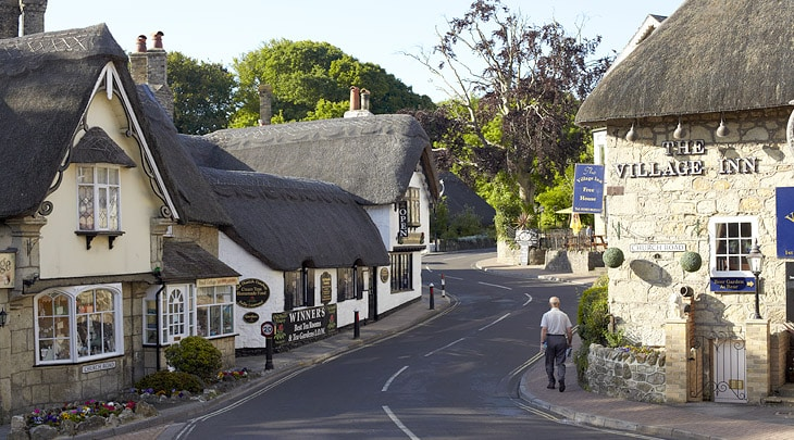Isle of Wight Shanklin Old Village