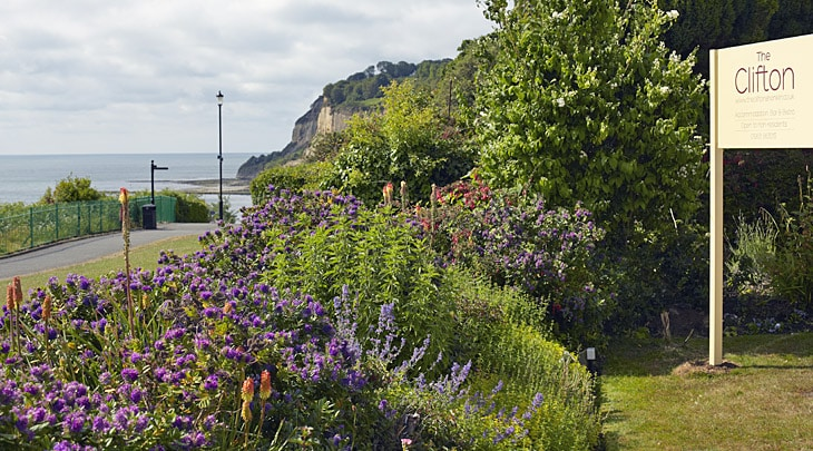 Shanklin Isle of Wight hotel accommodation stunning views