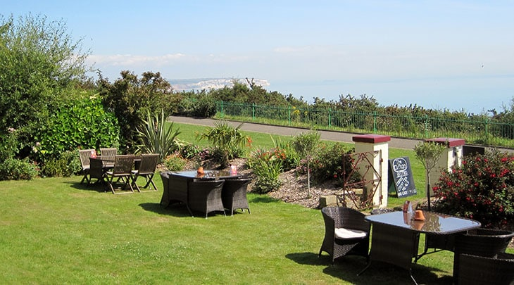 Stunning Shanklin sea views from The Clifton hotel